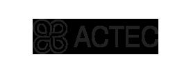 Logo ACTEC en negro