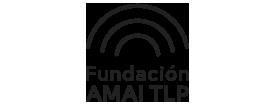Logo de AMAI TLP en negro