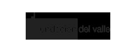Logo de Fundación del Valle en color