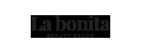 Logo de La Bonita en negro