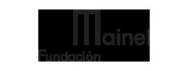 Logo de Fundación Mainel en negro