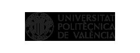 Logo de la Universitat Politècnica de València en negro