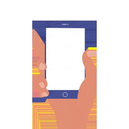 Digitalización de servicios ilustración