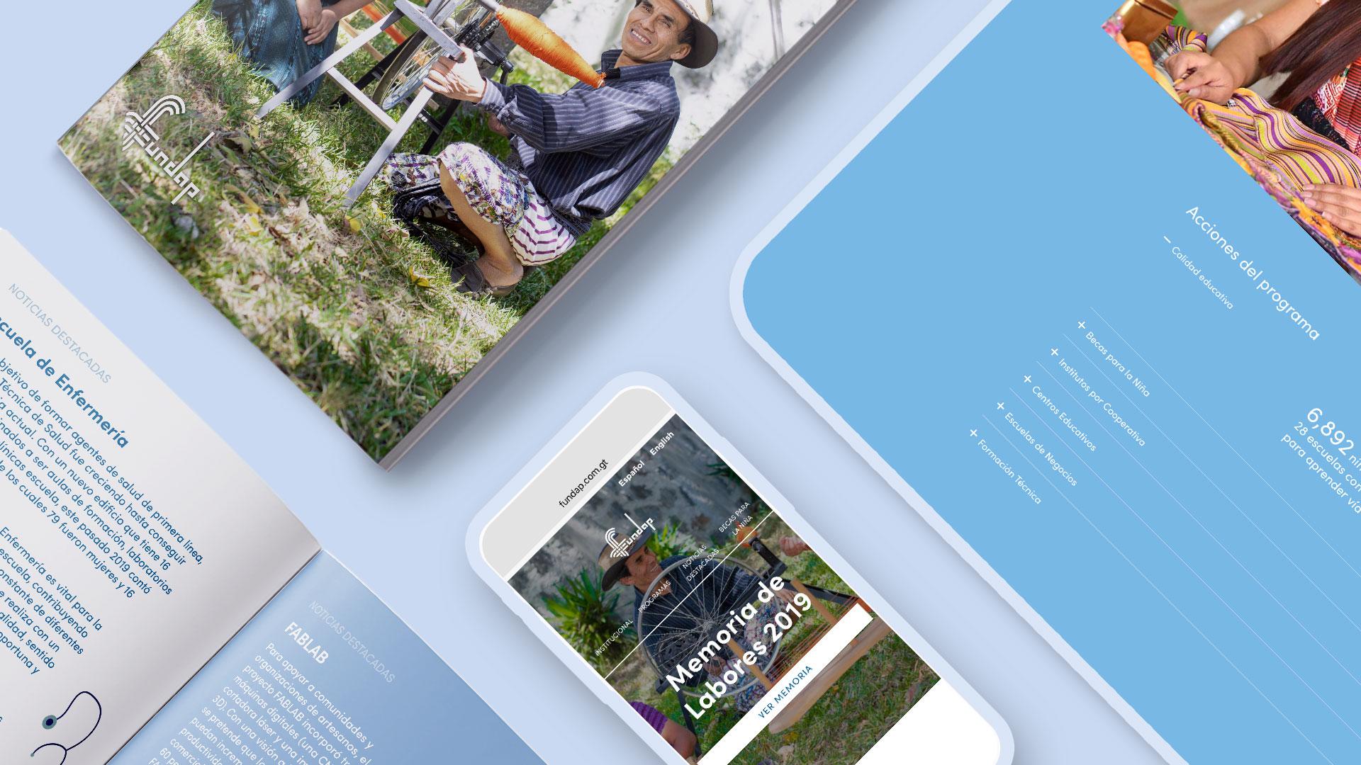 Annual report digital banner