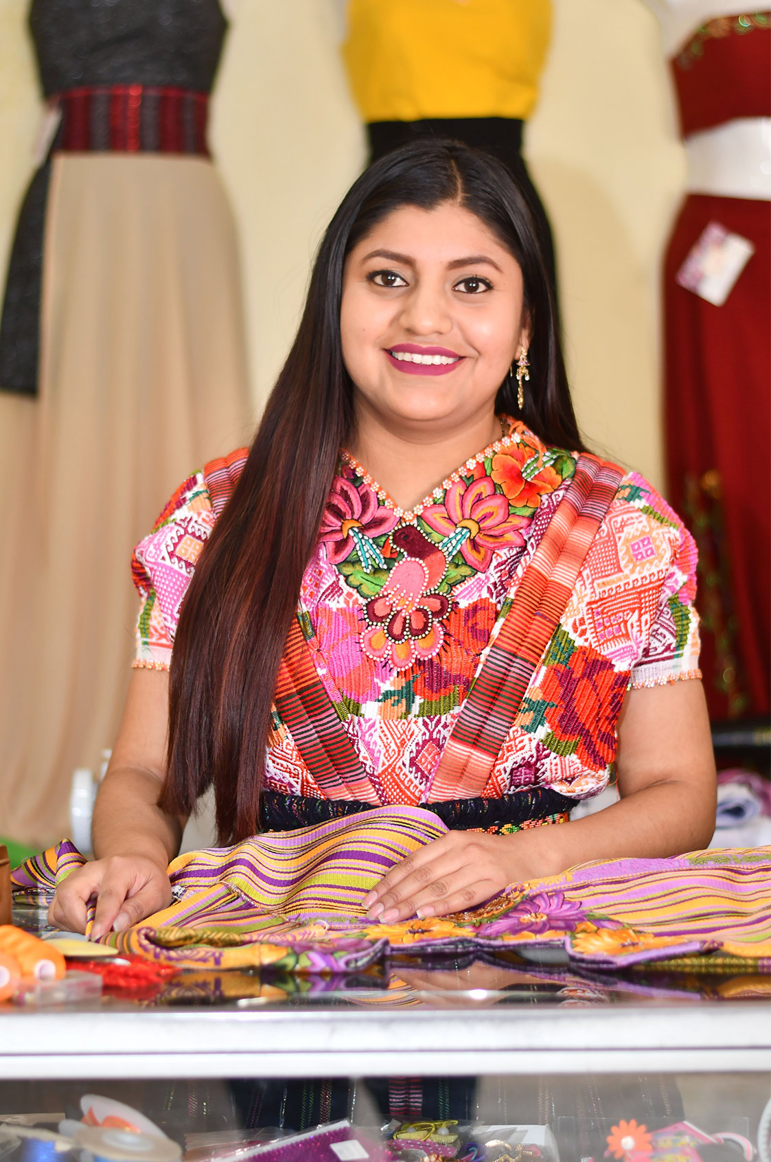 Imagen mujer guatemalteca by Calmo Agency