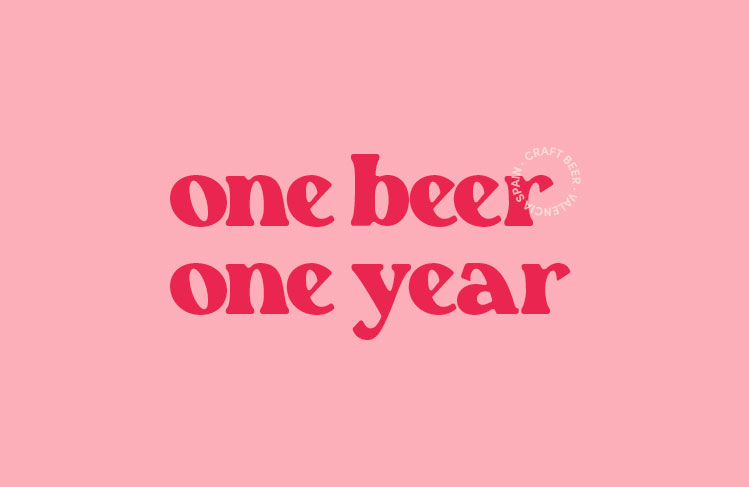 One Beer One Year Logo