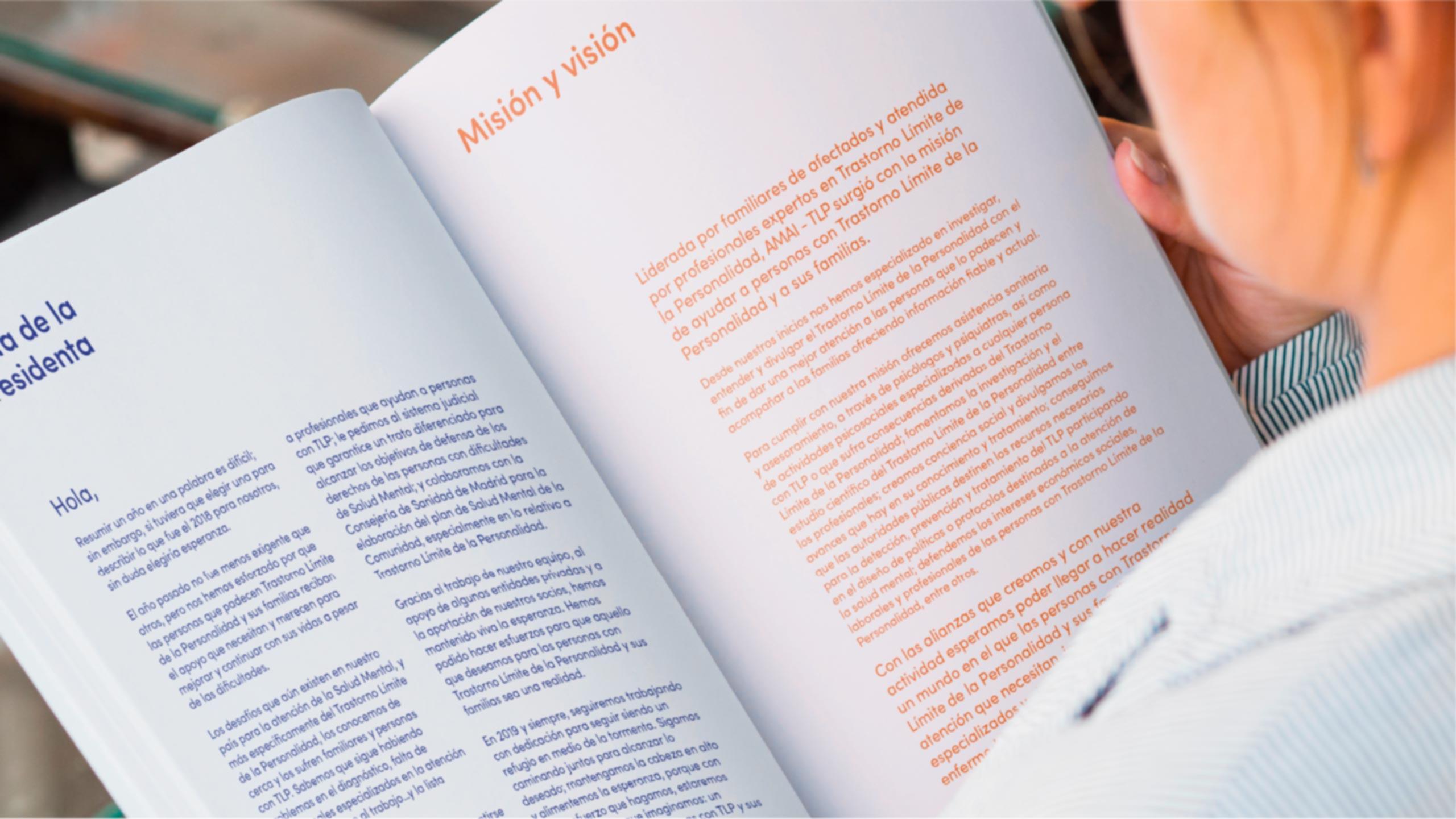 Diseño editorial Memoria Anual AMAI TLP