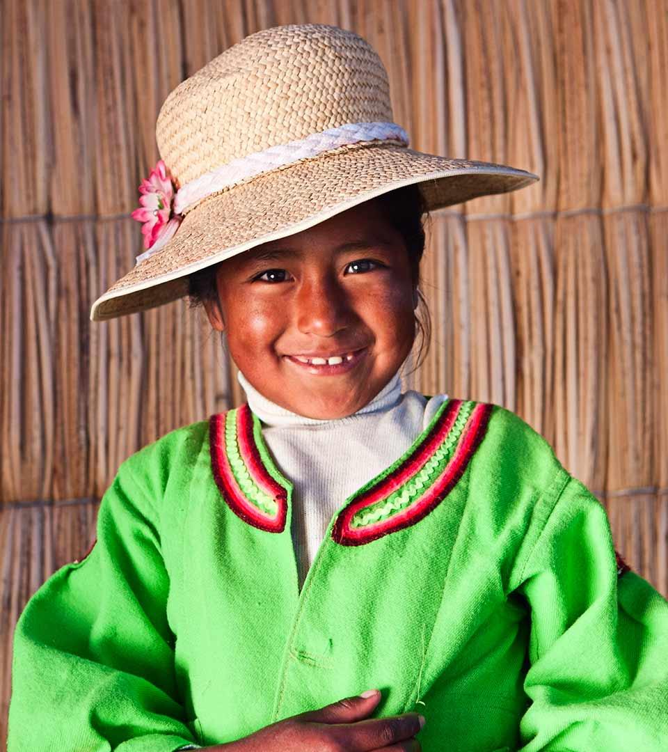Foto niña Bolivia