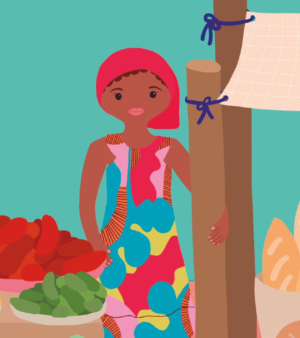 Ilustración Akissi