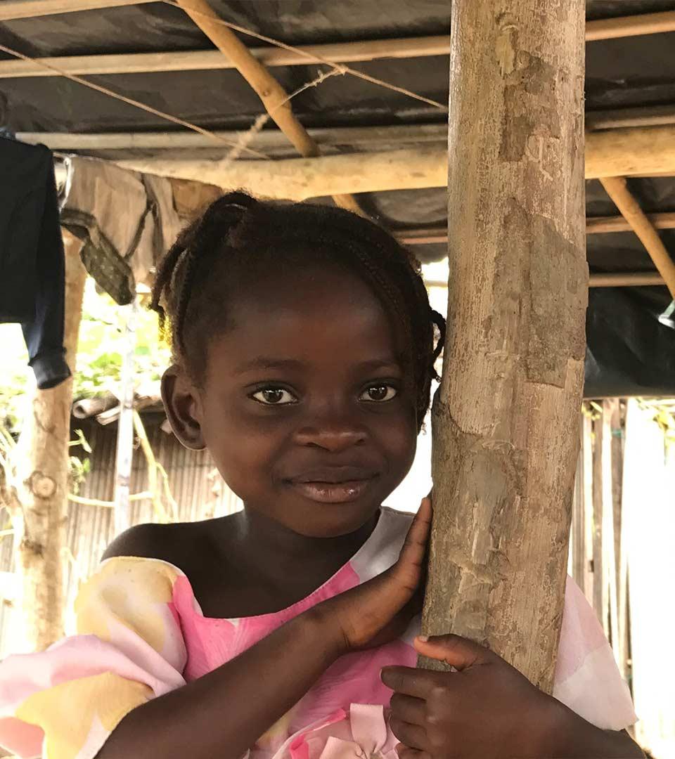 Foto niña Costa de Marfil