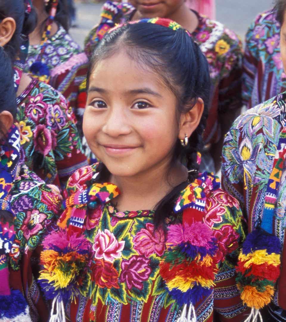 Foto niña Guatemala