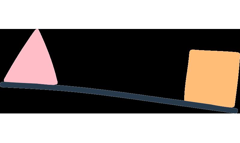 Ilustración balanza